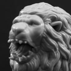 Kingdom Death: Monster White Lion Build