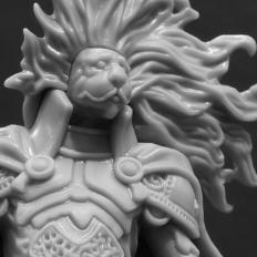 Kingdom Death: Monster Lion Knight & Court Build